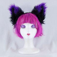 3062 RD cosplay Costume Unisex Wolf Black Red PAWSTAR Furry FOX EARS headband