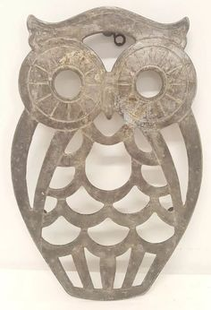 METAL REFRIGERATOR MAGNET Owl Bird Tell About My Day It Was A Hoot Humor Birds