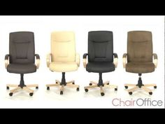 Knightsbridge Leather Executive Chair From Chair Office