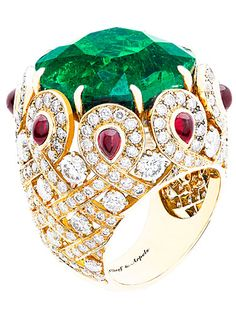 CLASSIC DESIGNERS:: VAN CLEEF & ARPELS ~~. Price upon request, Van Cleef & Arpels; (877) VAN-CLEEF. @no way Claire