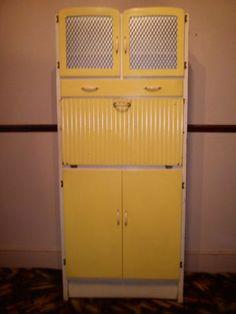 Vintage Retro Kitchen Cabinet Larder Kitchenette 50's 60's Free Standing