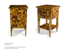 JOHN LYLE DESIGNS - Manor penshell inlaid chest