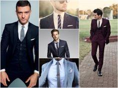 gravata slim estampada casamento noivo