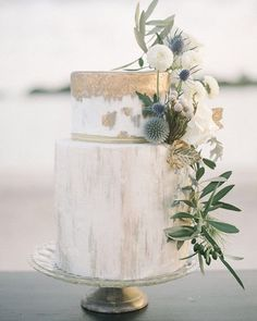 Watercolor Cakes Are the Next Big Wedding Trend via - METALLIC WEDDING CAKE (=) country chocolat mariage cake cake country cake recipes cake simple cake vintage Chic Wedding, Wedding Trends, Dream Wedding, Wedding Day, Rustic Wedding, Olive Wedding, Wedding Blog, Elegant Wedding, Floral Wedding