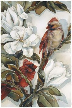 Bergsma Gallery Press::Paintings::Nature::Birds::Misc. Birds::Heart and Soul - Prints