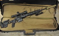 The US Army's new sniper rifle the XM-2010