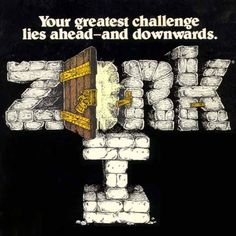 """The cover illustration for """"Zork I: The Great Underground Empire,"""" a text adventure released by Infocom for the Apple II in 1980"""