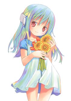 Kowarekake no Orgel - Flower Gossip Blog, Dreams And Nightmares, Girls With Flowers, Anime Child, Kawaii Anime Girl, Otaku, Manga, Awesome, Cute