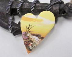 StudioStJames Handcrafted Polymer Clay Statement Focal Pendant