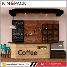 Source Classic modern style wholesale coffee shop display counters cafe bar furniture design on m.alibaba.com