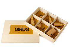 set of bird whistles
