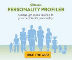 Take our FREE personality profiler quiz and find gifts based on dad's personality! http://www.gifts.com/finder