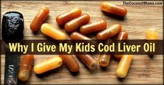 My Son Taking Cod Liver Oil & Why I Give My Kids Cod Liver Oil