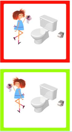 Wc kaarten Preschool Schedule Cards, Preschool Colors, Bath Time, Schmidt, Kindergarten, Clip Art, Education, Learning, Kids