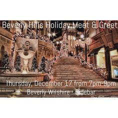 Beverly Hills Holiday Meetup: December 17 7pm-9pm Come celebrate the holiday season with all of your local PFFs at the iconic Beverly Wilshire Hotel! A fun night of mingling, laughter and sharing our best Poshmark success stories. Bring your obsession and wear one of favorite items you SCORED on Poshmark! Let's ring in this holiday season together!   Please RSVP ASAP as spots are limited: https://www.eventbrite.com/e/beverly-hills-poshmark-holiday-meet-greet-tickets-19730289828  Hosted by…