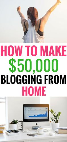 How to make money blogging | Learn how to make money with your blog and how to earn money with affiliate marketing in blog posts from home! Start living your dream job and start working from home today!