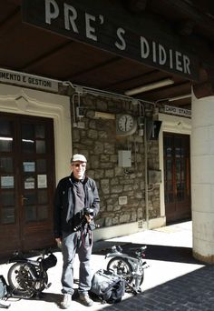 Aspettando il treno alla Stazione di Pré Saint Didier #experiaitalia #raiexpo #padiglioneitalia #politecnicodimilano #expo2015 #viaggio #montebianco #aosta #presaintdidier