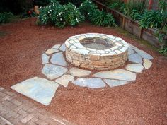 How To Build a Fire Pit and Grill  (video available) Learn how to create an outdoor fire pit and grill with a flagstone seating area. The project uses western stone and a laid-back attitude to combine two concepts — a fire pit and grill — into one sleek, modern design.    More in Outdoors