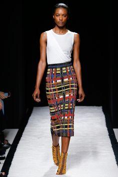 Balmain Spring 2015 Ready-to-Wear Fashion Show - Riley Montana (OUI)