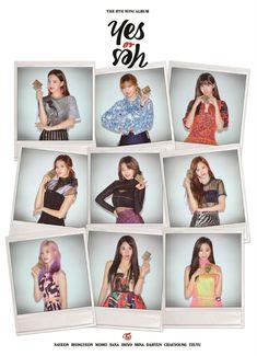 twice yes or yes photocard momo sana mina tzuyu jeongyeon chaeyoung nayeon jihyo dahyun