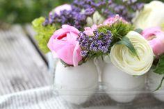 DIY: Floral Egg Centerpiece | The Daily Dose