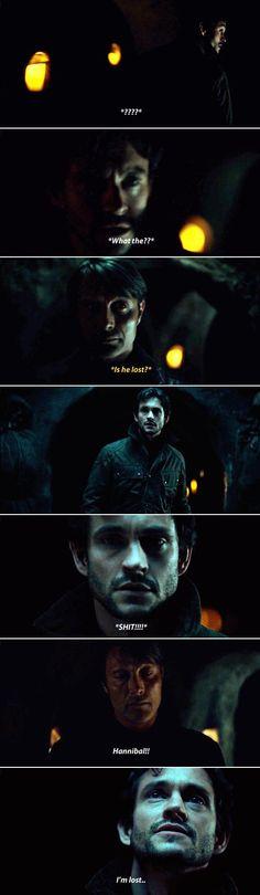 What really happened. Hannibal 2x3 Primavera. Source: sherlock-hannibal.tumblr