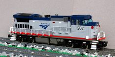 Amtrak P32BWH by Swoofty