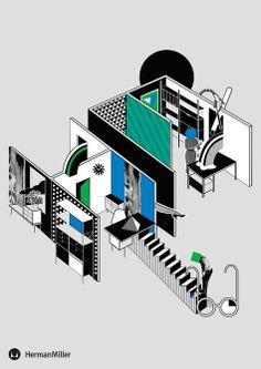 THEN X TEN | A HERMAN MILLER EXHIBITION - Emily Forgot - Graphic Artist