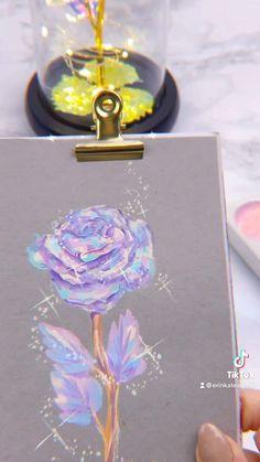 Cool Art Drawings, Colorful Drawings, Art Painting Gallery, Painting & Drawing, Galaxy Painting, Hippie Art, Pastel Art, Marker Art, Art Tutorials