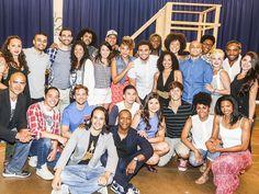 Cast Of Hamilton, Hamilton Broadway, Hamilton Musical, Hamilton Star, Pippa Soo, Rehearsal Room, Daveed Diggs, Anthony Ramos, Richard Rodgers