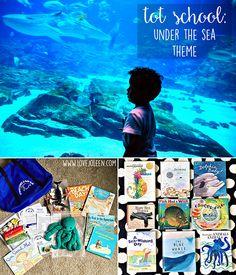 Under the Sea Tot School Theme