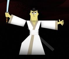 PAPERMAU: Samurai Jack Paper Toy - by Zsolt Papp - via Behance Community