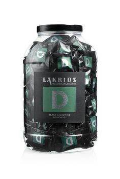Lakrids by Johan Bülow N° D. Dragée d'amande parfumé à la réglisse