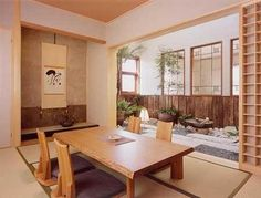 Tatami room  (easier to find in old neighborhoods in Hawaii)