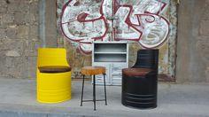 Coole Upcycling Möbel. industrial furniture auf ninety-seven.de