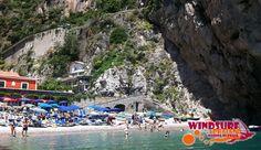 Windsurf & Kayak Praiano amalfi coast courses and excursion or rental