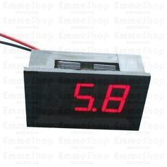 LED Voltage Meter (Red) This is a standalone DC voltage meter. It measures 3V-30V with 1% accuracy.
