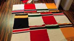D.I.Y. GONGSHOW inspired hockey sock blankets