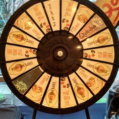 Come in to Qdoba and spin the prize wheel! Its Loyalty Day. Buy this Prize Wheel at http://PrizeWheel.com/products/floor-prize-wheels/floor-table-black-clicker-prize-wheel-18-slot/.