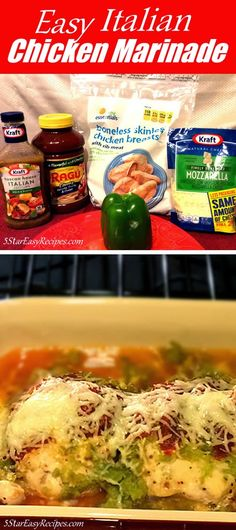 EASY ITALIAN CHICKEN MARINADE RECIPE