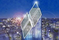 New World Trade Center Tower 2  #Foster #Norman Pinned by www.modlar.com