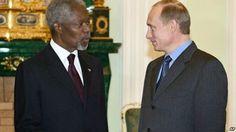 Новости России и Мира: Кофи Аннан о Путине, конфликте на Украине и Ближне...