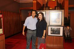 Farah Khan and Neville Tuli  at Osianama's Farah Khan Masterclass at Osianama at Liberty