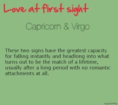 this Capricorn is head over heels for her Virgo. Virgo And Capricorn Compatibility, Capricorn And Virgo, Virgo Horoscope, Virgo Zodiac, Capricorn Rising, Compatibility Chart, Virgo Men, Daily Horoscope, Astrology