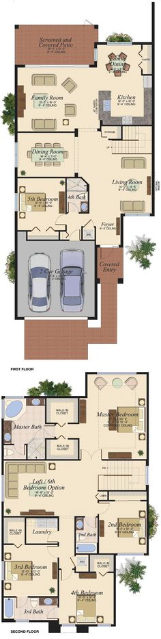 CONRAD/457 Floor Plan (Large View)