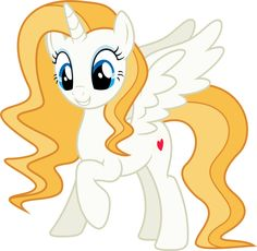 I don't think this is a real my little pony, but I think she's pretty, and wish she was a real pony.