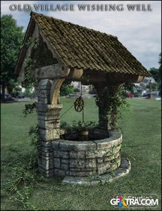 Old Wishing Well - Bing Images