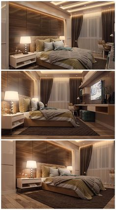 Stylish And Genius Master Bedroom Design Ideas 15 ~ TopInteriorsDesign.Com ideas master Stylish And Genius Master Bedroom Design Ideas 15 Room Design, Modern Bedroom Design, Home Bedroom, Luxurious Bedrooms, False Ceiling Design, Modern Bedroom, Small Bedroom, Bedroom Layouts, Bedroom