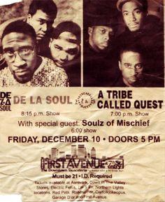 De La Soul & A Tribe Called Quest...nice!