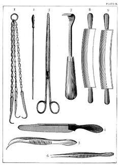 Taxidermy Tools - Plate 2 in Methods and Art of Taxidermy